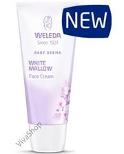 Weleda Baby Derma White Mallow Face Cream Детский крем для лица для чувствительной кожи Белый Алтей 50 мл