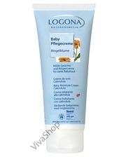 Logоna Naturkosmetik Logona BIO Увлажняющий крем для младенцев с маслом Календулы 50 мл