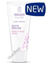 Weleda Baby Derma White Mallow Nappy Change Cream Крем от опрелостей для очень чувствительной кожи Белый Алтей 50 мл