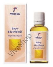 Weleda Baby-Bauchleinol Масло от вздутия животика для детей 50 мл