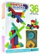 Bristle Blocks Конструктор-бристл - СТРОИТЕЛЬ (36 деталей, в коробке) (3099Z)