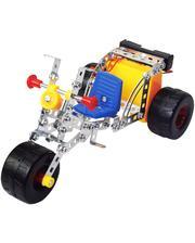 Tronico Конструктор металлический на батарейках, Трехколесный велосипед (144 дет.), (9755-3)