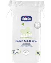 Chicco Салфетки мягкие хлопковые 60 шт (02654.00) (02654.00)