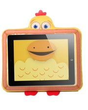 Wise-Pet Мягкая игрушка ЦЫПЛЕНОК САННИ, чехол для планшетов 9 – 10,1 дюймов, желтая, (в блистере) (900213)