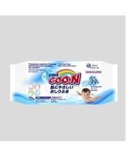 GOO.N Влажные салфетки для чувствительной кожи (70 шт, увеличенные, в новой цветной пачке) (733528)