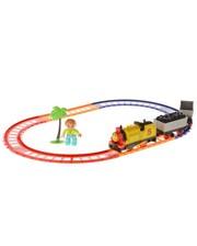 Na-Na Детская железная дорога со звуком и светом (серия Супер Томас) IE273 (T21-082)
