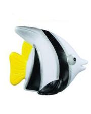 LENA Рыбка черно-белая - игрушка для купания в ванне, (65521-4)
