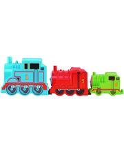 Fisher Price Набор паровозиков Собирай и соединяй серии My first Thomas & Friends, Mattel (CDN14)