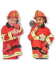 Melissa & Doug Детский карнавальный костюм Пожарного Melissa&doug (MD4834)