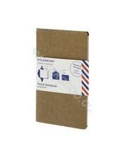 Блокнот-конверт Moleskine Messages Postal Notebook. Светло-коричневый 299807
