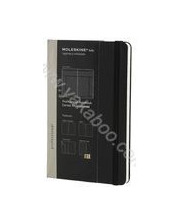 Недатированная записная книжка Moleskine Folio Professional. Черная 299804