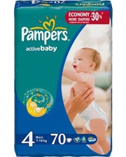PAMPERS Active Baby Maxi 4...