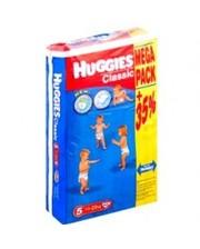 HUGGIES Classic 5 (11-22 кг) MEGA PACK 56 шт.