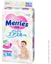 Merries L (9-14) кг 54шт