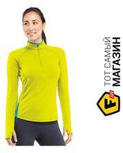 Icebreaker Pace LS Half Zip Women s S, chartreuse/glacier (100 406 701 S)