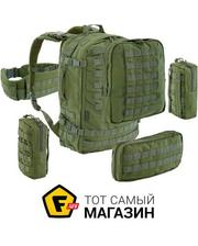 Defcon 5 - Extreme Fast Release Full Modular Molle Back Pack 60, Green (D5-S100024 OD)
