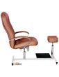 Ayala Кресло для педикюра Portos Zestaw de Lux кофейное