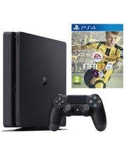 Sony PlayStation 4 Slim 500Gb Black + Fifa 17