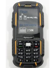 Sigma mobile X-treme DZ67 Travel (Black Yellow) + Акция!!!