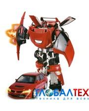 ROADBOT Робот-трансформер - MITSUBISHI EVOLUTION VIII (1:18) (50100 r)