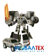 ROADBOT Робот-трансформер - TOYOTA LAND CRUISER (1:18) (50060 r)