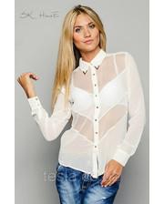 Белые Прозрачные Блузки