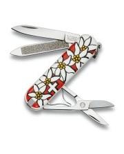 Victorinox - Classic 58 мм 7 предметов Edelweiss + ножн. Vx06203.840