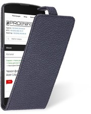 Чехол флип Liberty для LG Google Nexus 4 Черный