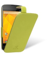 Чехол флип Stenk Handy для LG Google Nexus 4 Лайм
