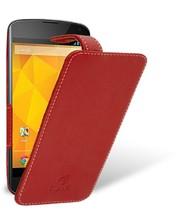 Чехол флип Stenk Handy для LG Google Nexus 4 красный