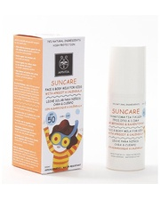 APIVITA САНКЕА с абрикосом и календулой детское солнцезащитное для лица и тела SPF 50 100 мл