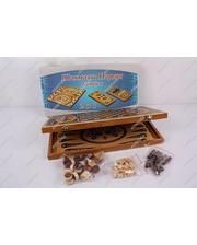 BK Toys Шахматы деревянные 2 в 1