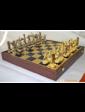 Manopoulos Шахматы 'Троянская война' в деревянном футляре (синие)