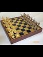 Manopoulos Шахматы 'Олимпийские игры' в деревянном футляре (синие)