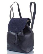 Сумка-рюкзак Женская кожаная сумка-рюкзак (ВАЛЕНТА) VBE6188812