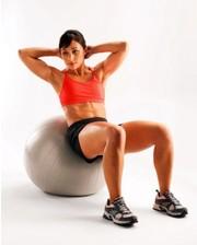 Фитбол (мяч для фитнеса) PERFECT CORE BALL 31018 (65 см)