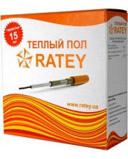 Теплый пол Ratey 0.25кВт (Ратей) секция 17м - до 2,5м