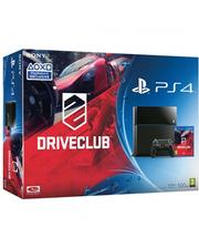 Sony PlayStation 4 500 Gb + гра Driveclub Black