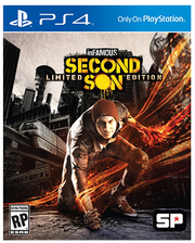 Sony PS4 InFamous Second Son російська версія