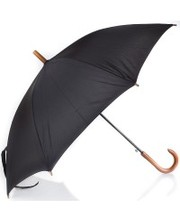 Зонт-трость полуавтомат 1132 черный