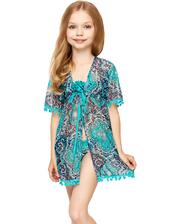 Anabel-Arto 96425 халат пляжный для девочки