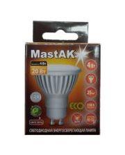 MastAK CUP02WG ( 4W LED GU10 230V 2700K )