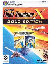 Microsoft Flight Sim X-Gold...
