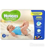 HUGGIES Ultra Comfort для мальчиков 3 (5-9кг) 80 шт (5029053543598)