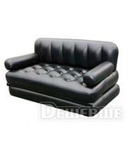 BESTWAY - 75039SIC Диван-кровать (3шт) 5 в 1, 188-152-64см (чорный)