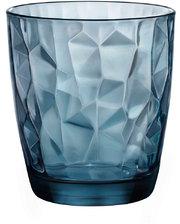 Bormioli Rocco - - DIAMOND Стакан синий низкий 300 мл - 350220M02321990