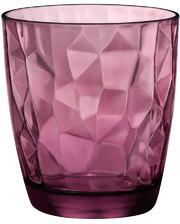 Bormioli Rocco - - DIAMOND Стакан вишневый низкий 305 мл - 350230M02321990