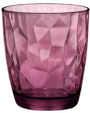 Bormioli Rocco - - DIAMOND DOF Стакан вишневый 390 мл - 302258Q02021990
