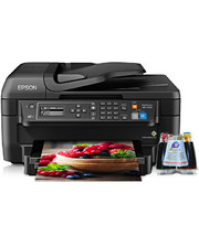 Epson МФУ Workforce WF-2650 Refurbished by с СНПЧ