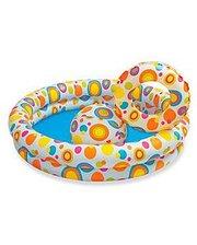 Intex с надувным кругом и мячом